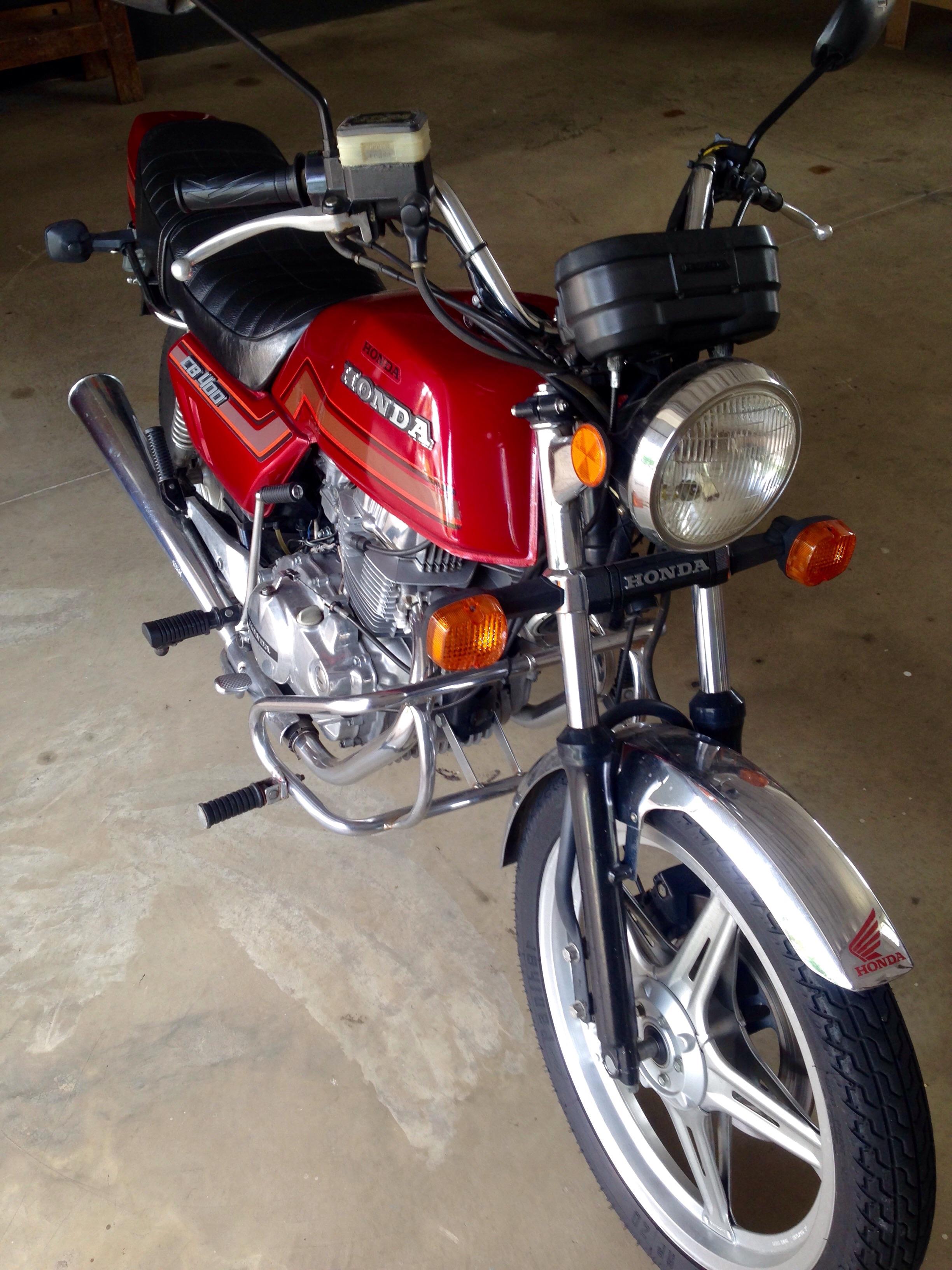 Honda CB 400 Reference Model Help