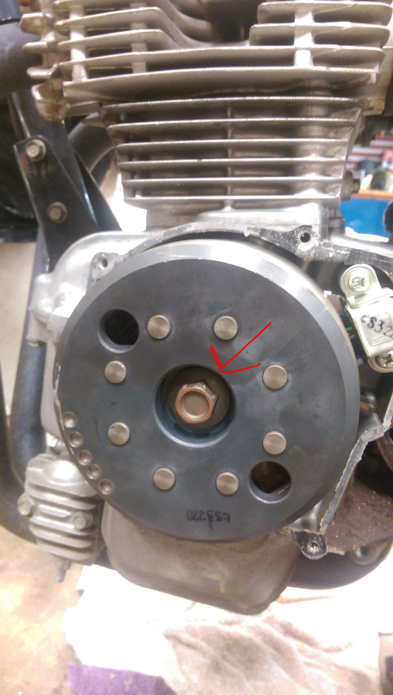 Removing cm400a Stator For First Time?