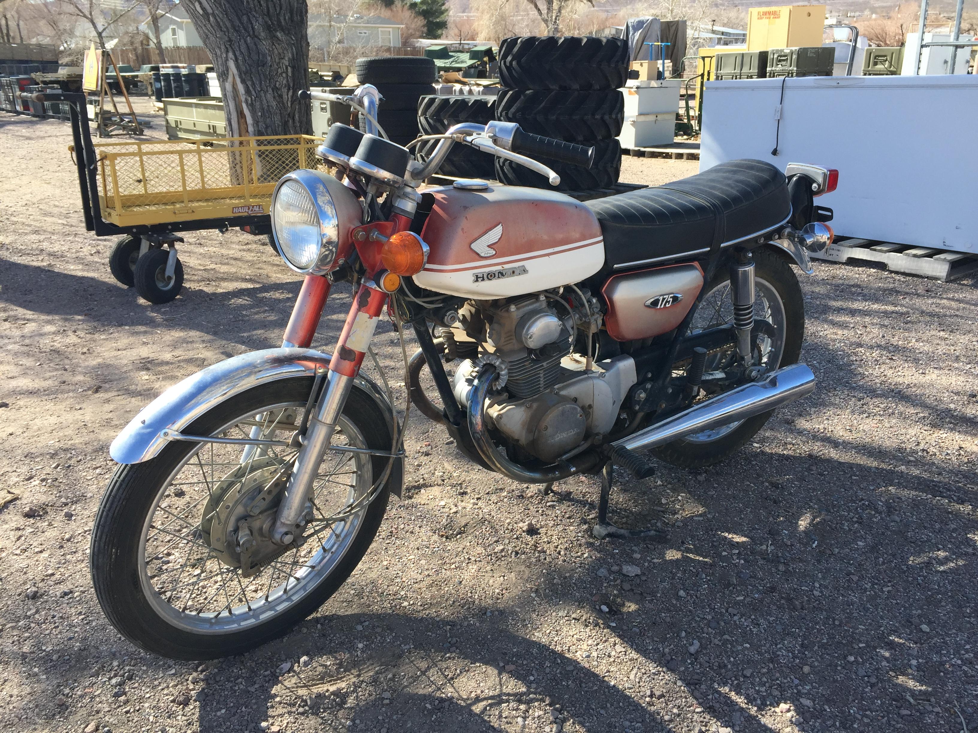 1970 Honda Cb175 Is It Worth A 1000 Ct70 Paint Alt000 Image2