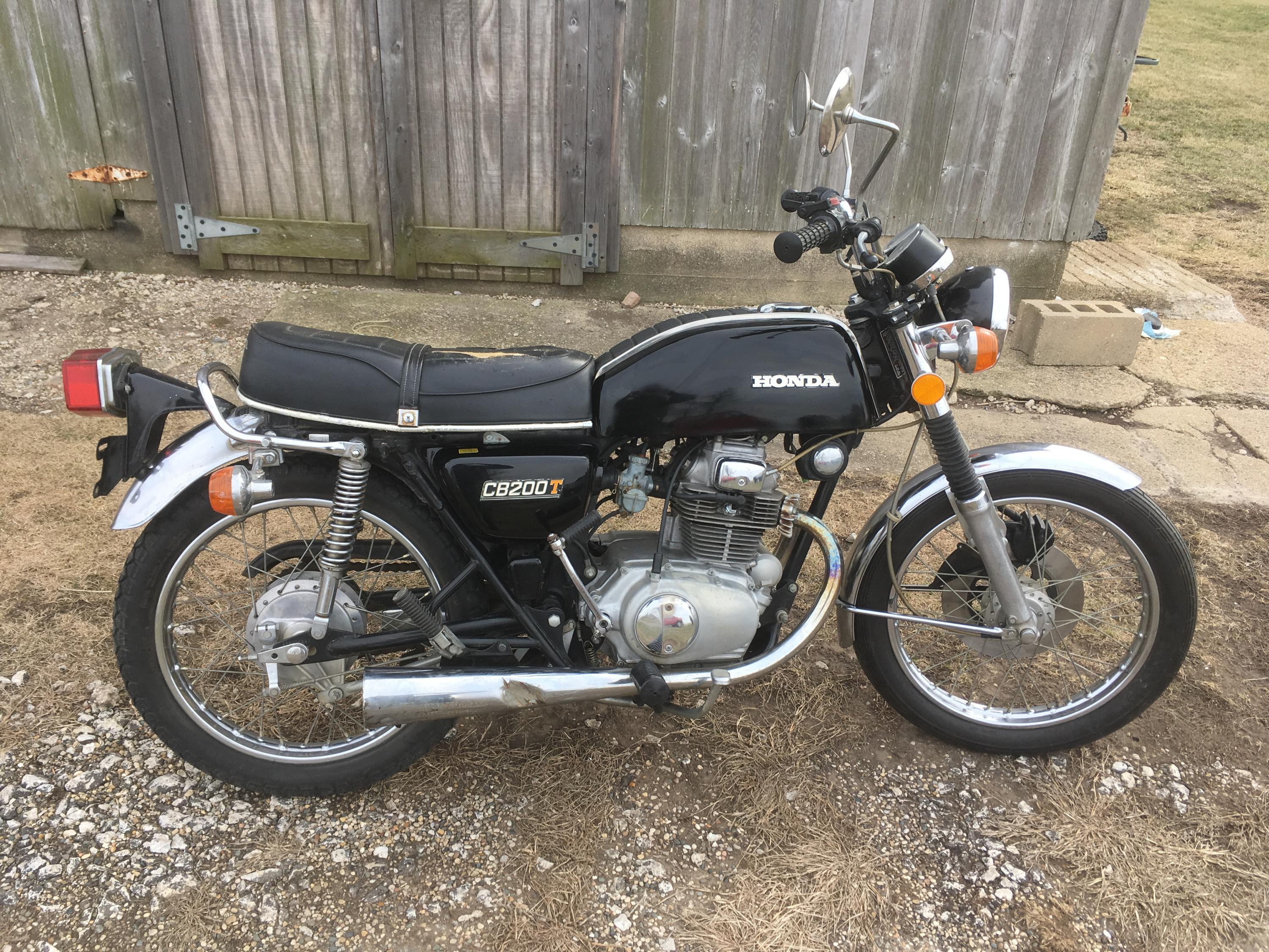 Honda Of Champaign >> '75 CB200 in central IL. Very nice condition, ready to ride.