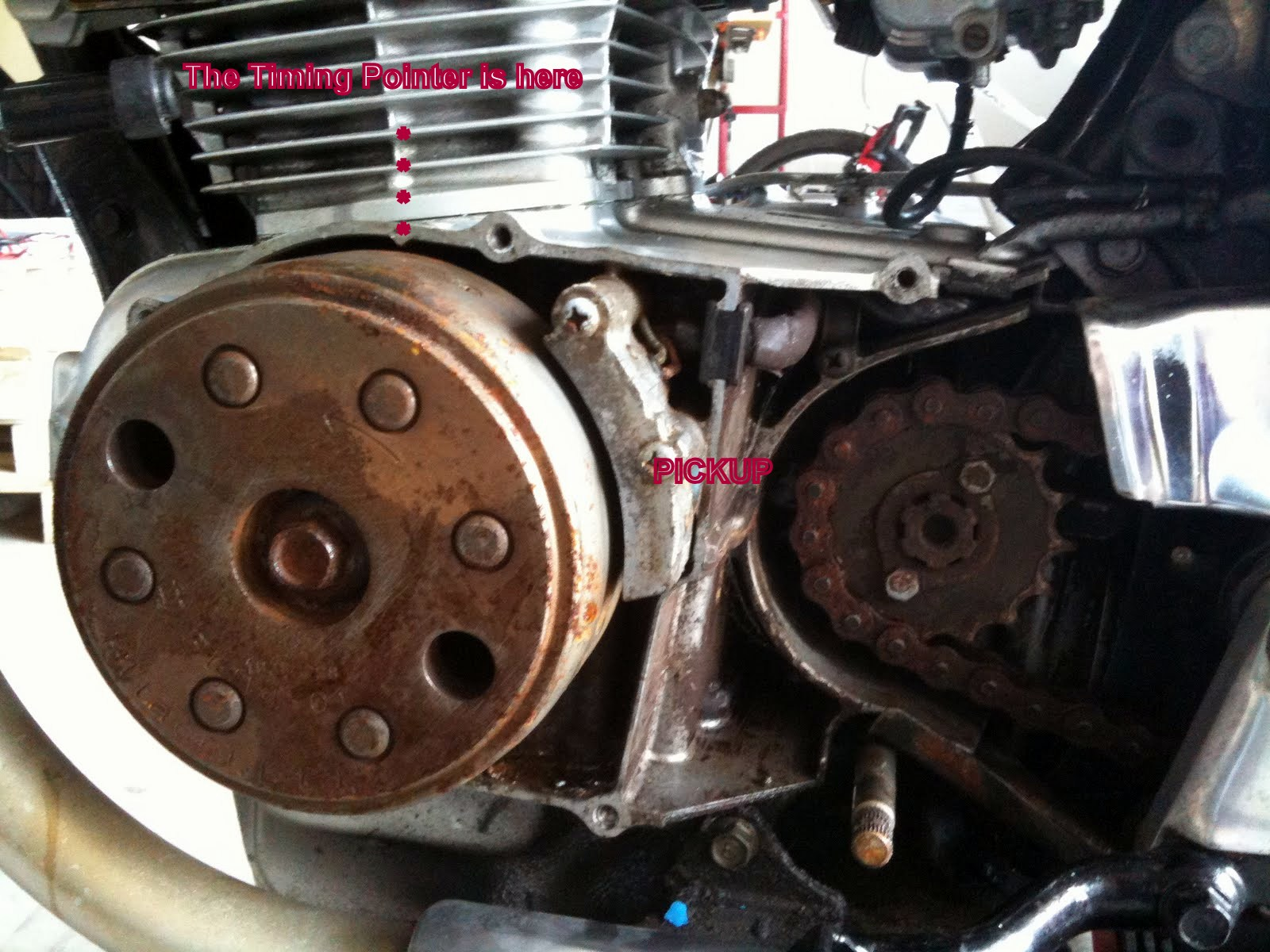 honda roadmaster cd200 how to turn into a cafe racer page 2 Snow Mobile Cdi Wiring Diagram
