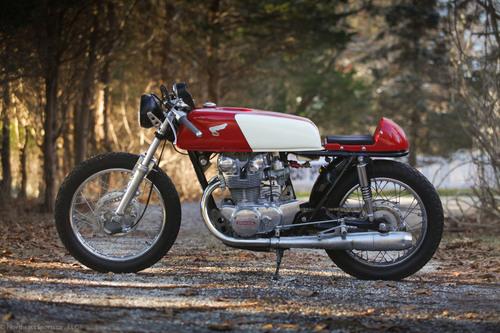1973 Honda CB450 Bob Hansen Style CafeRacer Brooklyn 00 Img 07801