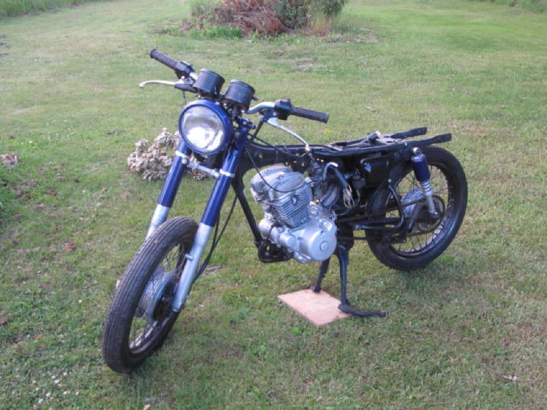 Honda Benly CD125T 1984 Img 1018
