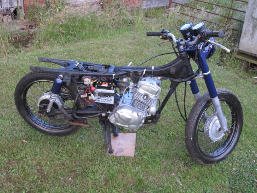 Honda Benly CD125T 1984 Img 1020