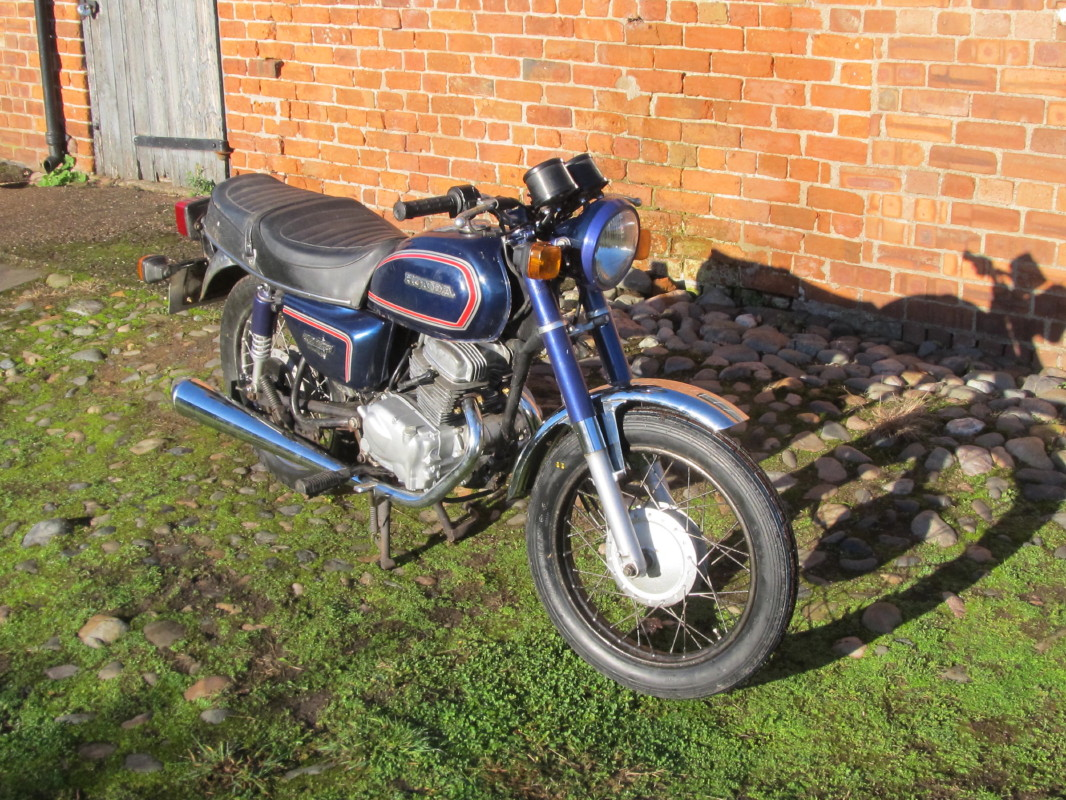 Honda Benly CD125T 1984 Img 1182