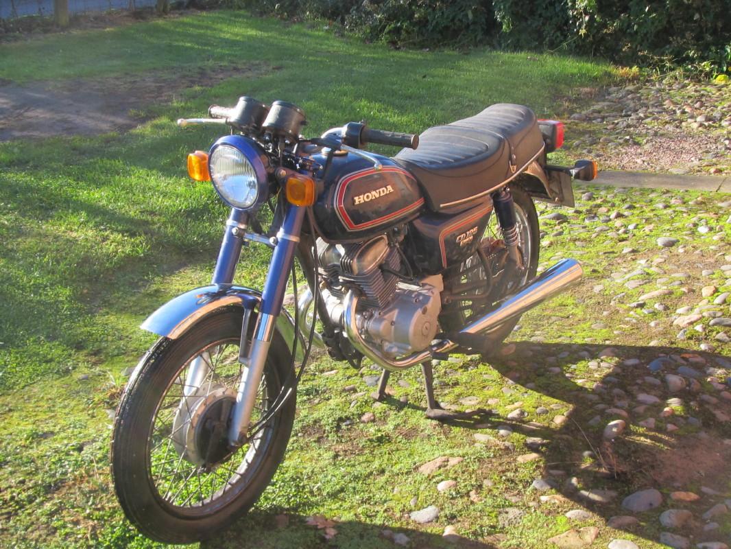 Honda Benly CD125T 1984 Img 1184