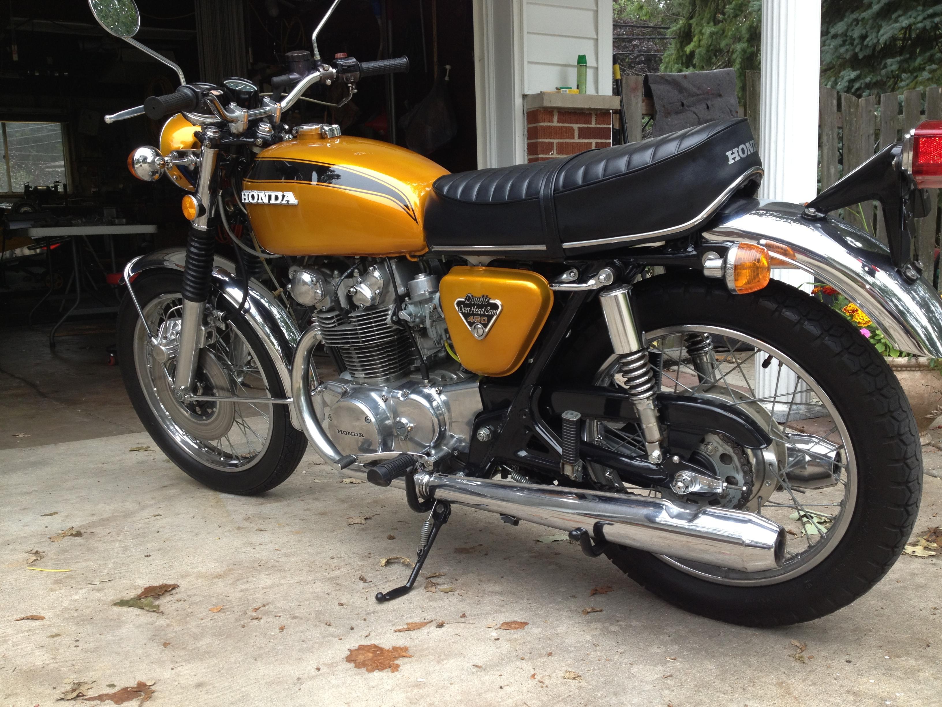 1971 Honda Cb450  K4  - Restore To Ride