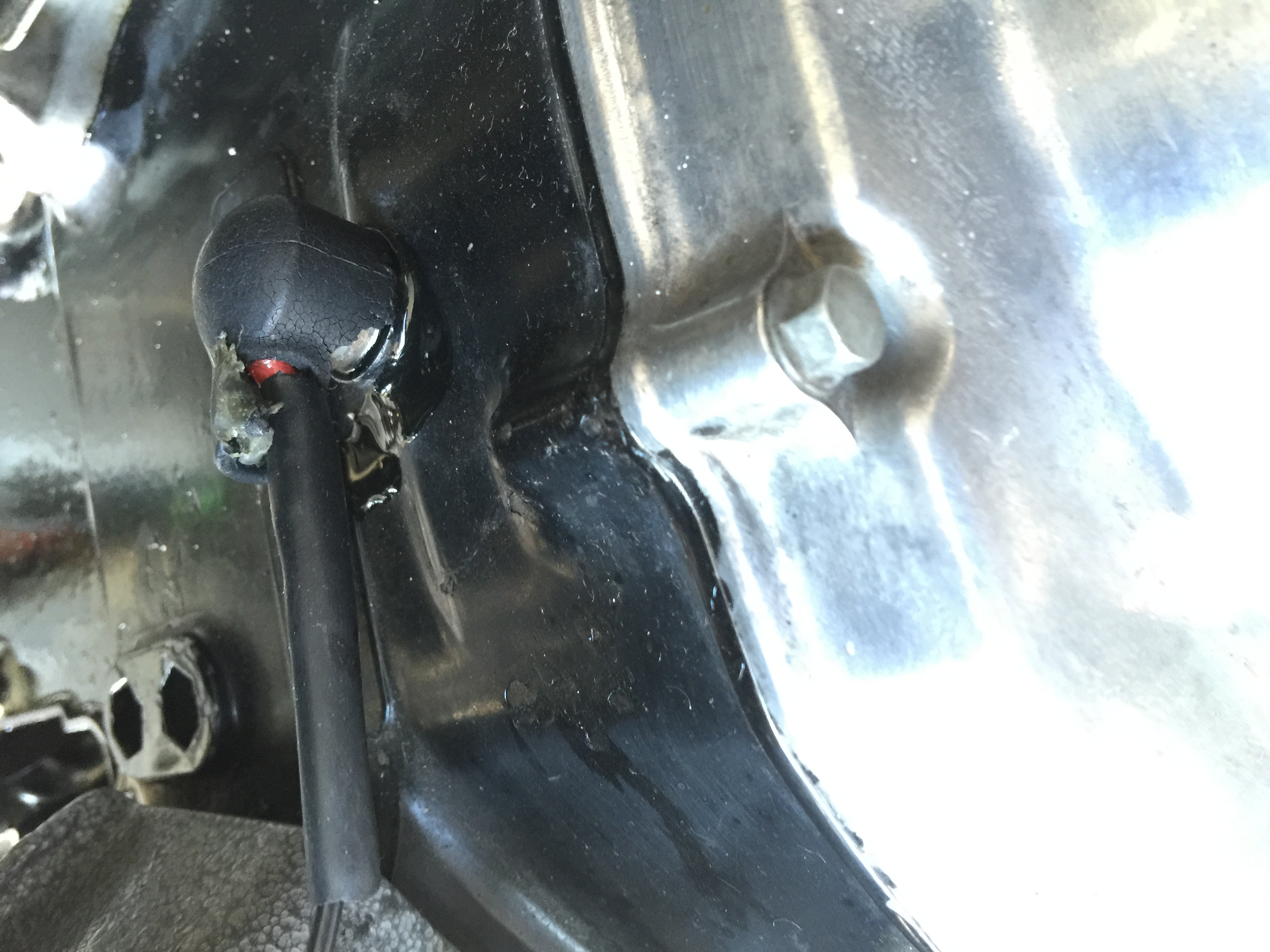 D Oil Leak Possibly Neutral Safety Switch Img on Honda 300 Fourtrax Wiring Diagram