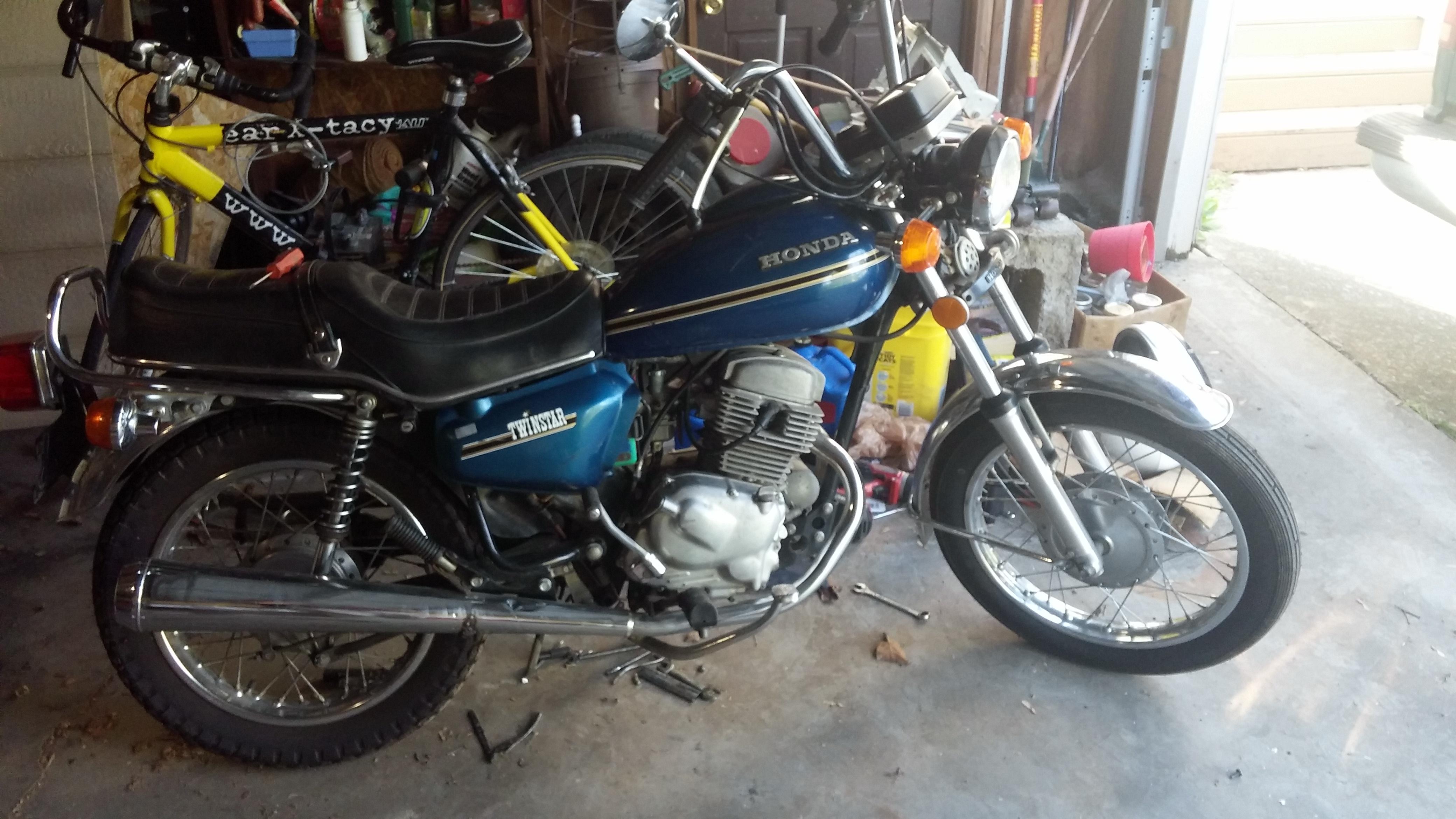 NOS 1978 Honda Twinstar CM185T CM185 Dealer Brochure L798 Other ...