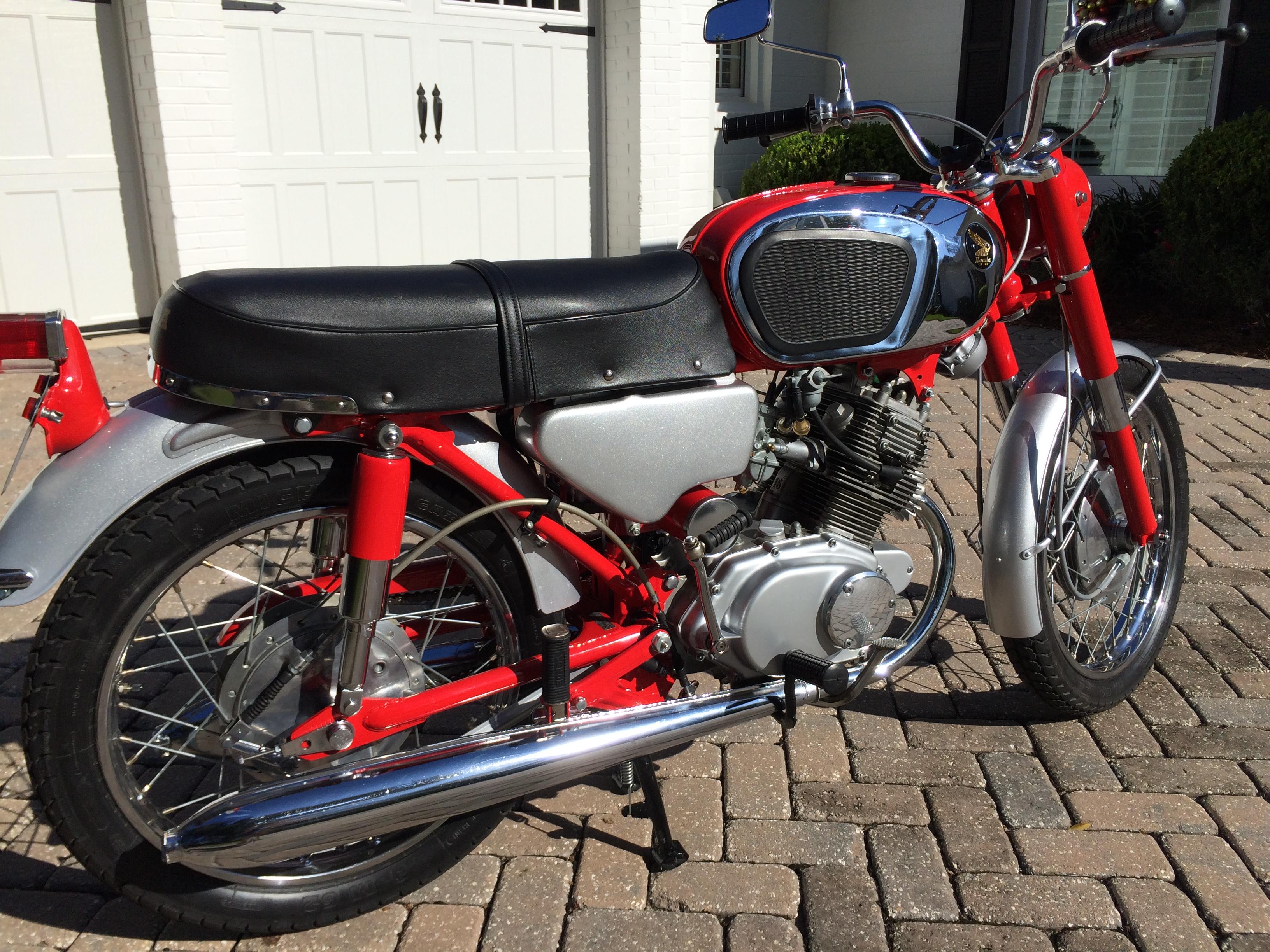 Honda Jacksonville Fl >> Restored 1965 Honda CB160 for sale on ebay
