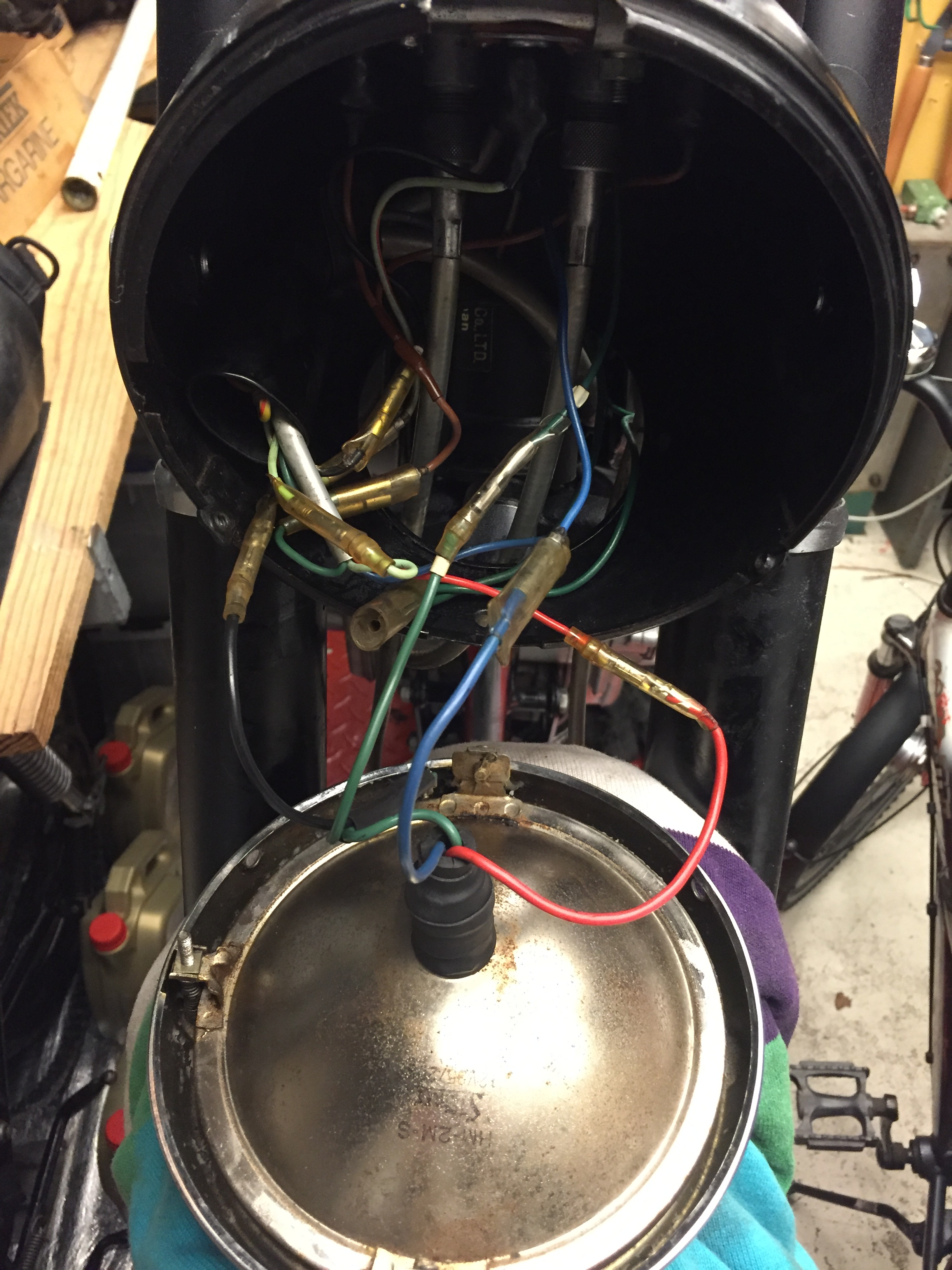 Honda cb450 K0 headlight wiring question Page 2 – Honda Headlight Wiring