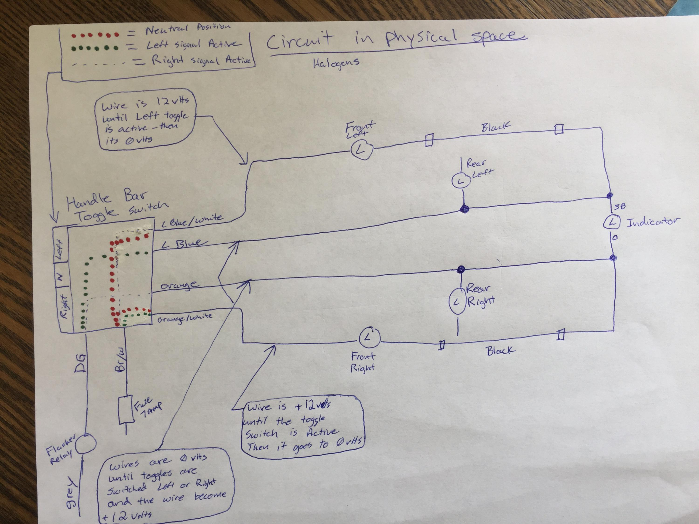 73 Vw The Wiring Diagram Youturn Signalsflasherrelay