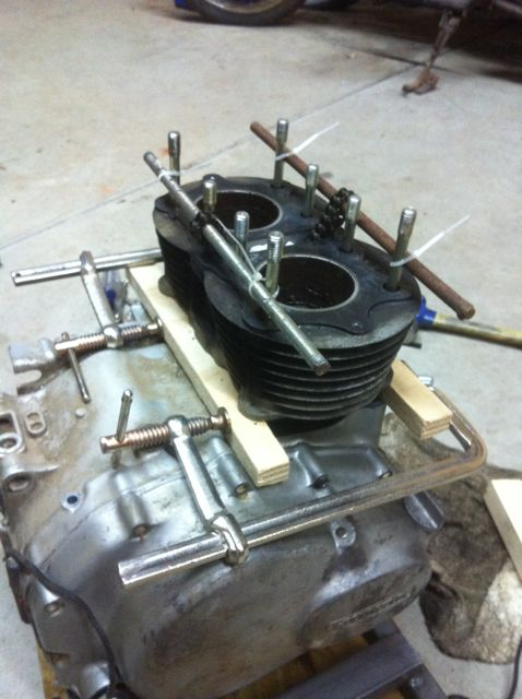 Cam chain removal seized engine