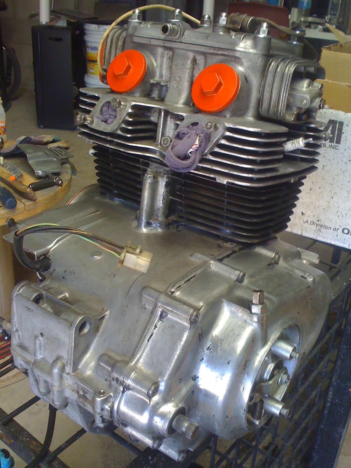 Honda CB200 1975 project.