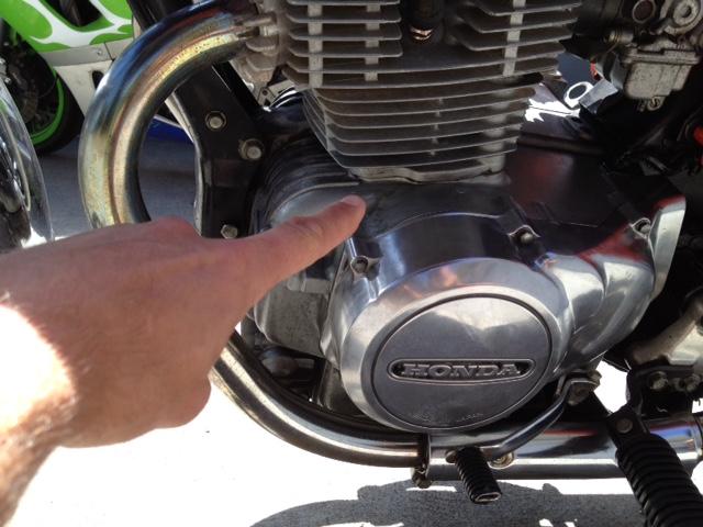Pretty massive oil leak sudden while riding hwy cylinder to pretty massive oil leak sudden while riding hwy cylinder to engine trans gasket sciox Choice Image