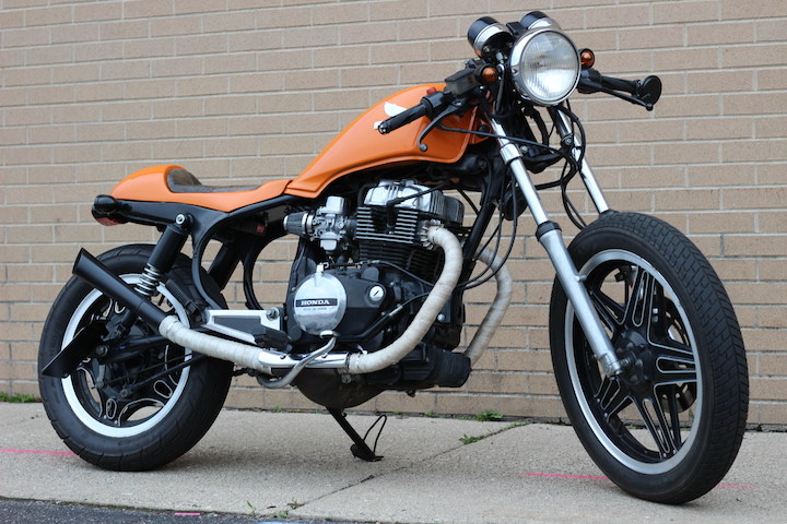 1982 Cb450sc Nighthawk Cafe Racer