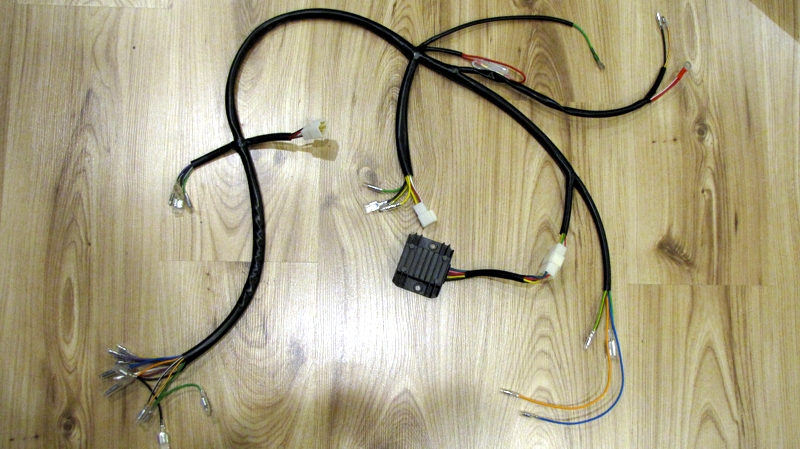new repro cb350 cl350 sl350 wiring harness to fit rick\u0027s Oxygen Sensor Extension Harness