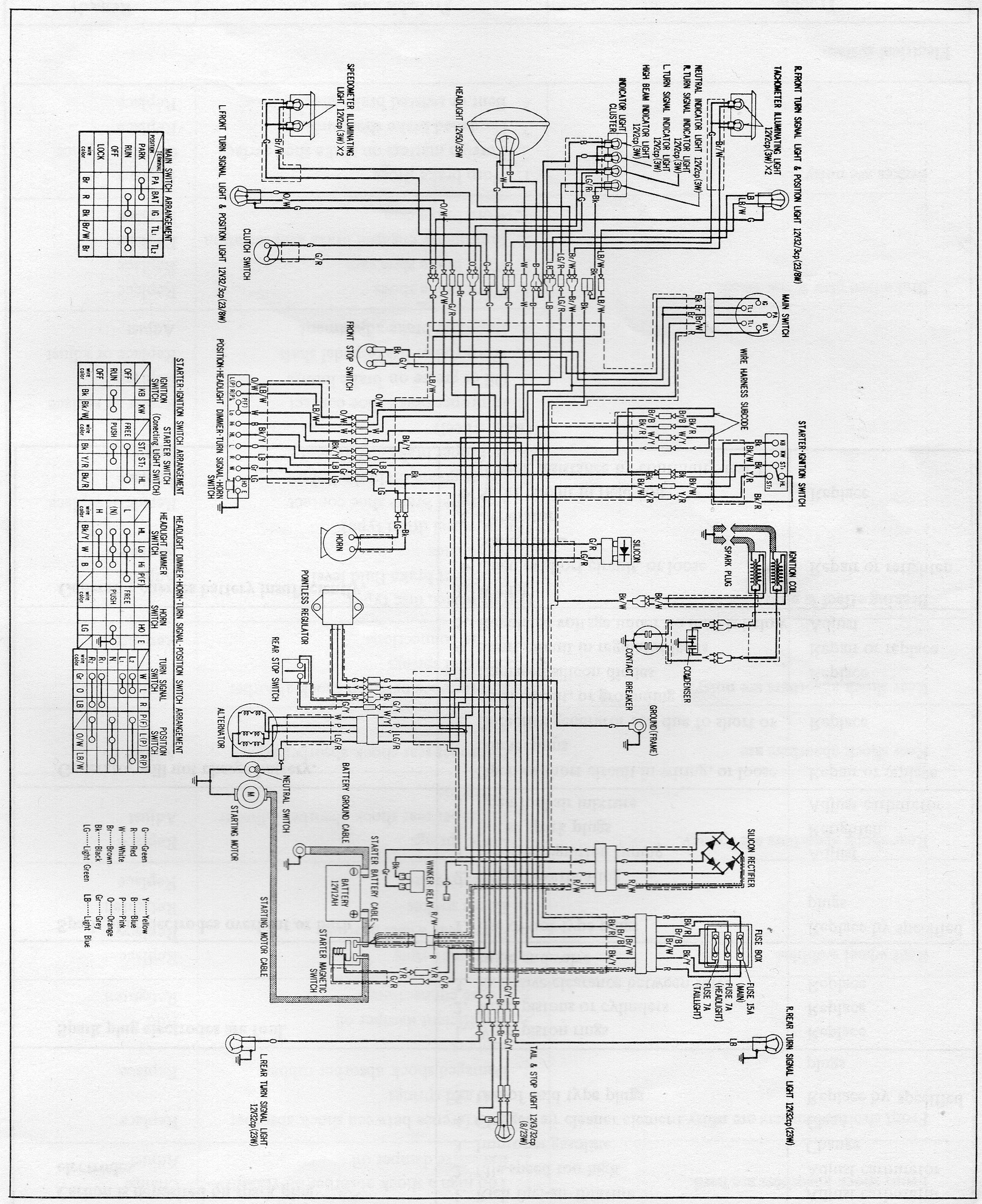 First Co Wiring Diagram from www.hondatwins.net