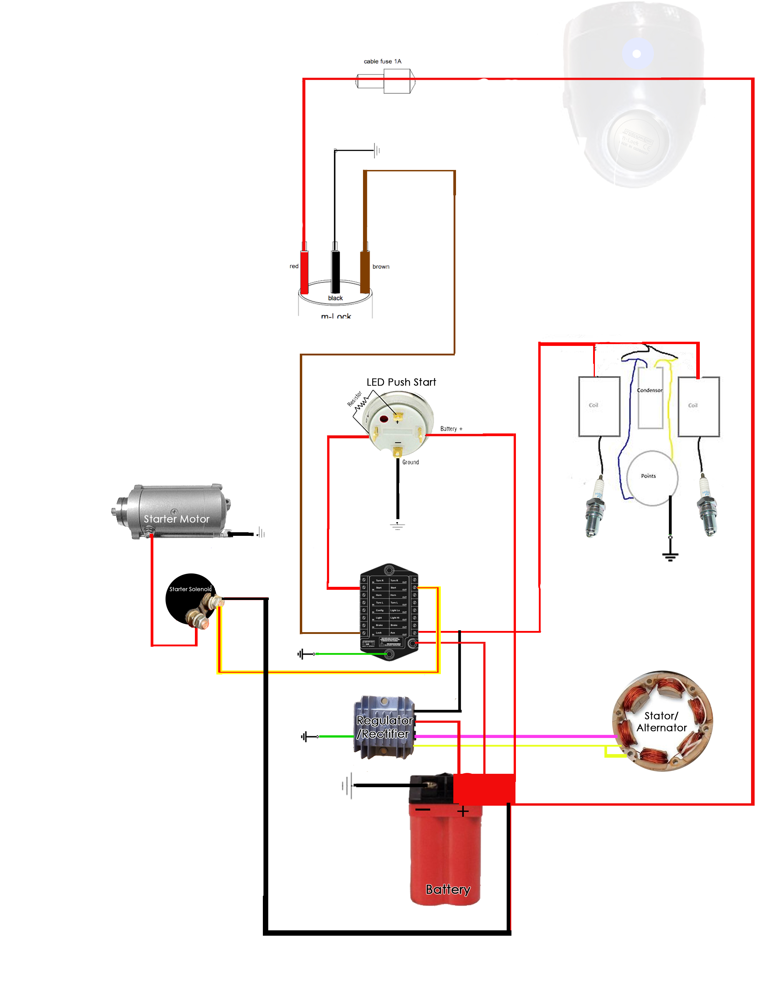 Honda Cl 350 Wiring Data Schematic 1969 Cb350 Diagram Schedmatic Cafe Project Attachments Rh Hondatwins Net