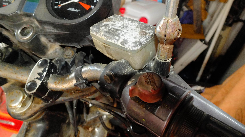 James Adams - My CB400N restoration-nasty-master-cylider.jpg