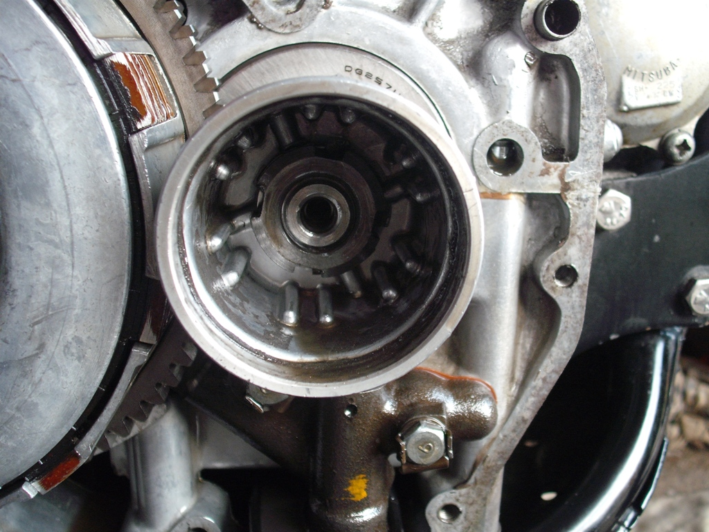 how to clean oil filter