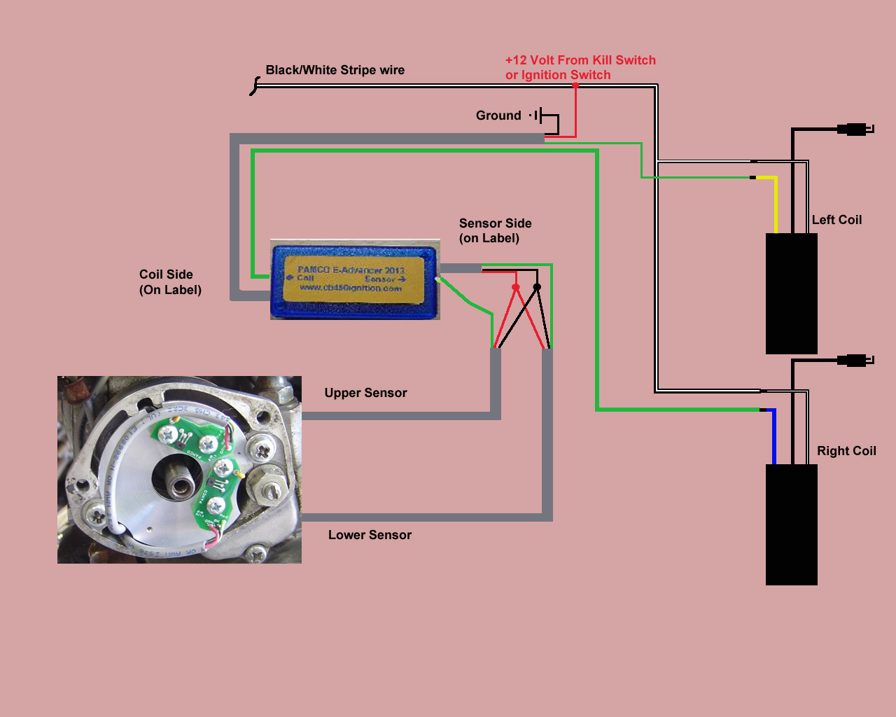 d help pamco universal coils pamco cb electronic advancer wiring diagram jpg help pamco and universal coils help pamco and universal coils pamco cb450 electronic advancer wiring