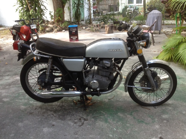 First Bike Cb200rhhondatwins: 1974 Honda Cb200 Wiring Diagram At Gmaili.net