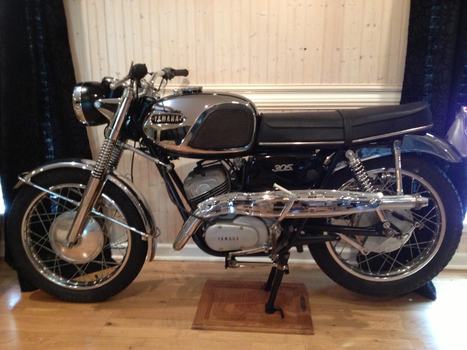 Hondas For Sale >> 1966 Yamaha Big Bear Scrambler 2-Stroke