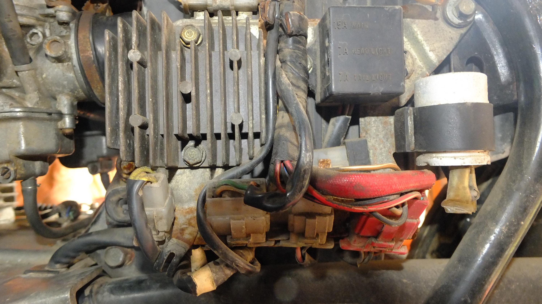James Adams - My CB400N restoration-rectifier.jpg