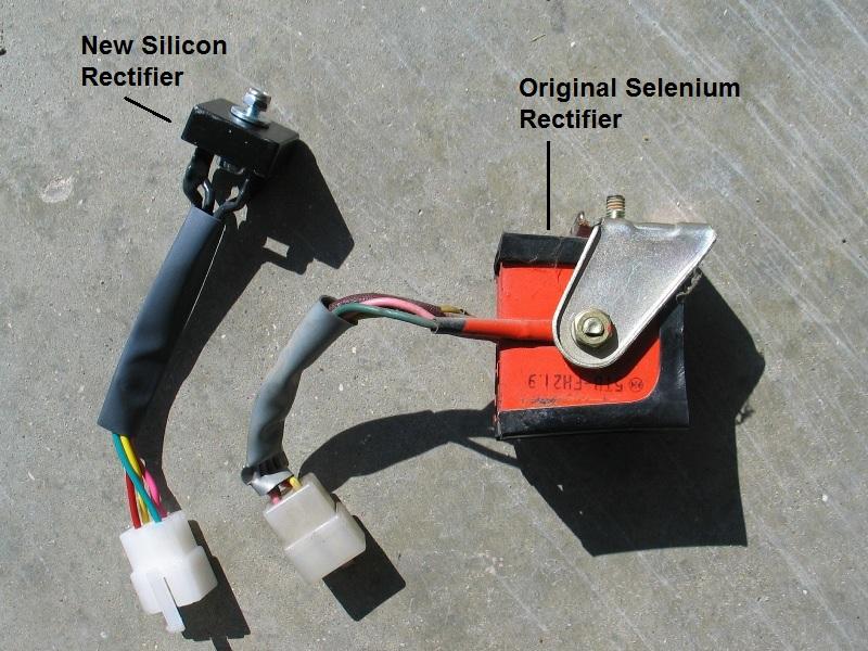 1972 Cl175 Wiring Diagram  Regulator