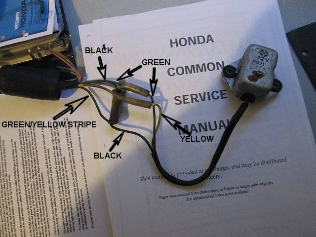 cb450 color wiring diagram (now corrected) - page 2, Wiring diagram