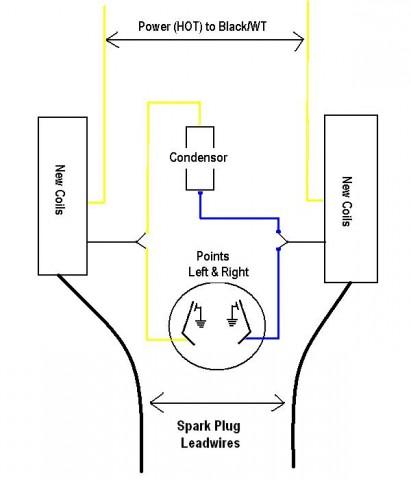 mike's yamaha xs650 coil cdi stator wiring diagram #9