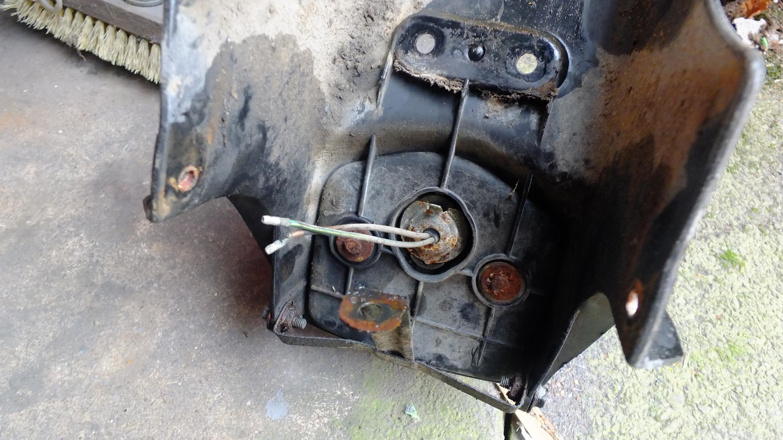 James Adams - My CB400N restoration-rusty-rear-light-underside.jpg