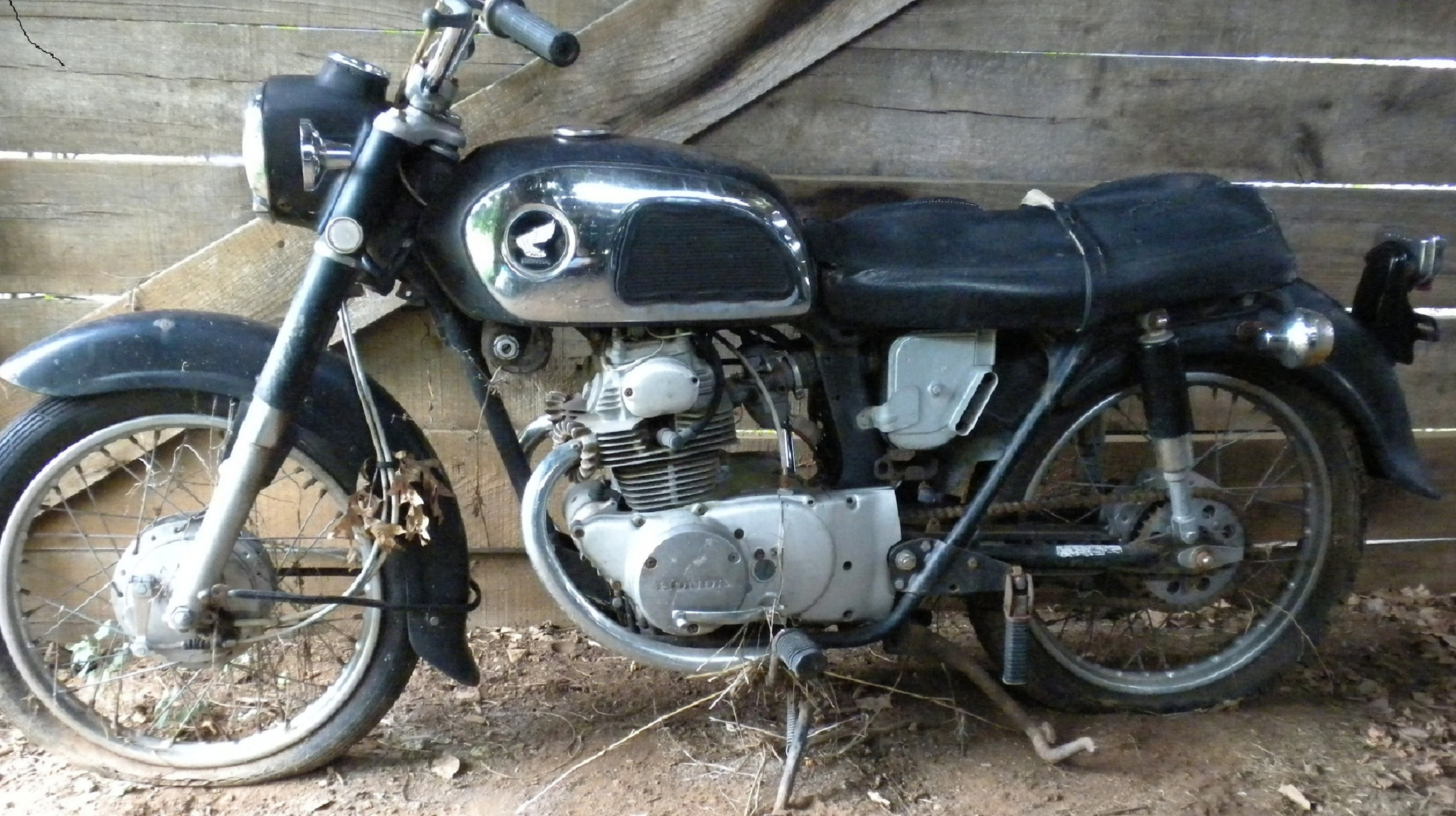 Honda Cd175 First Bike Project Ca175 Wiring Diagram Serenity Side Cropped