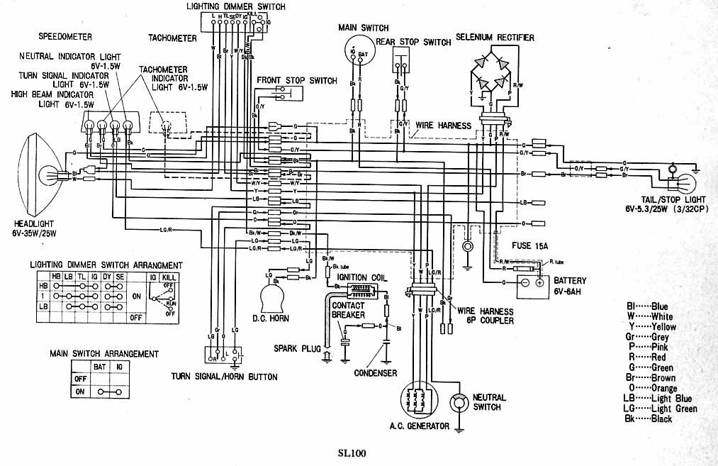 charging system mod page 6 rh hondatwins net 1972 Honda CB500 1971 Honda CB450 K4 Cycle