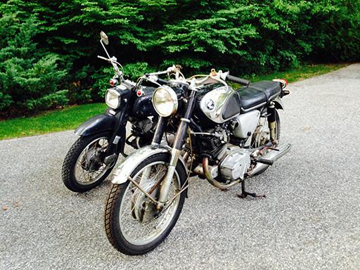 1965 honda benly ca95 restoration rh hondatwins net Honda Dream CA95 1965 Honda 150 Motorcycle