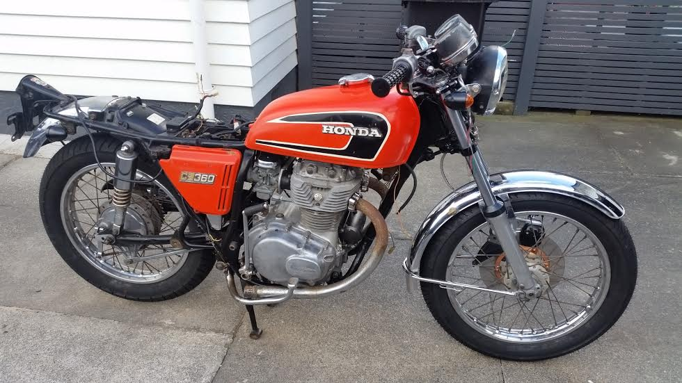 Cb360 Cafe Racer In Nz Attachments