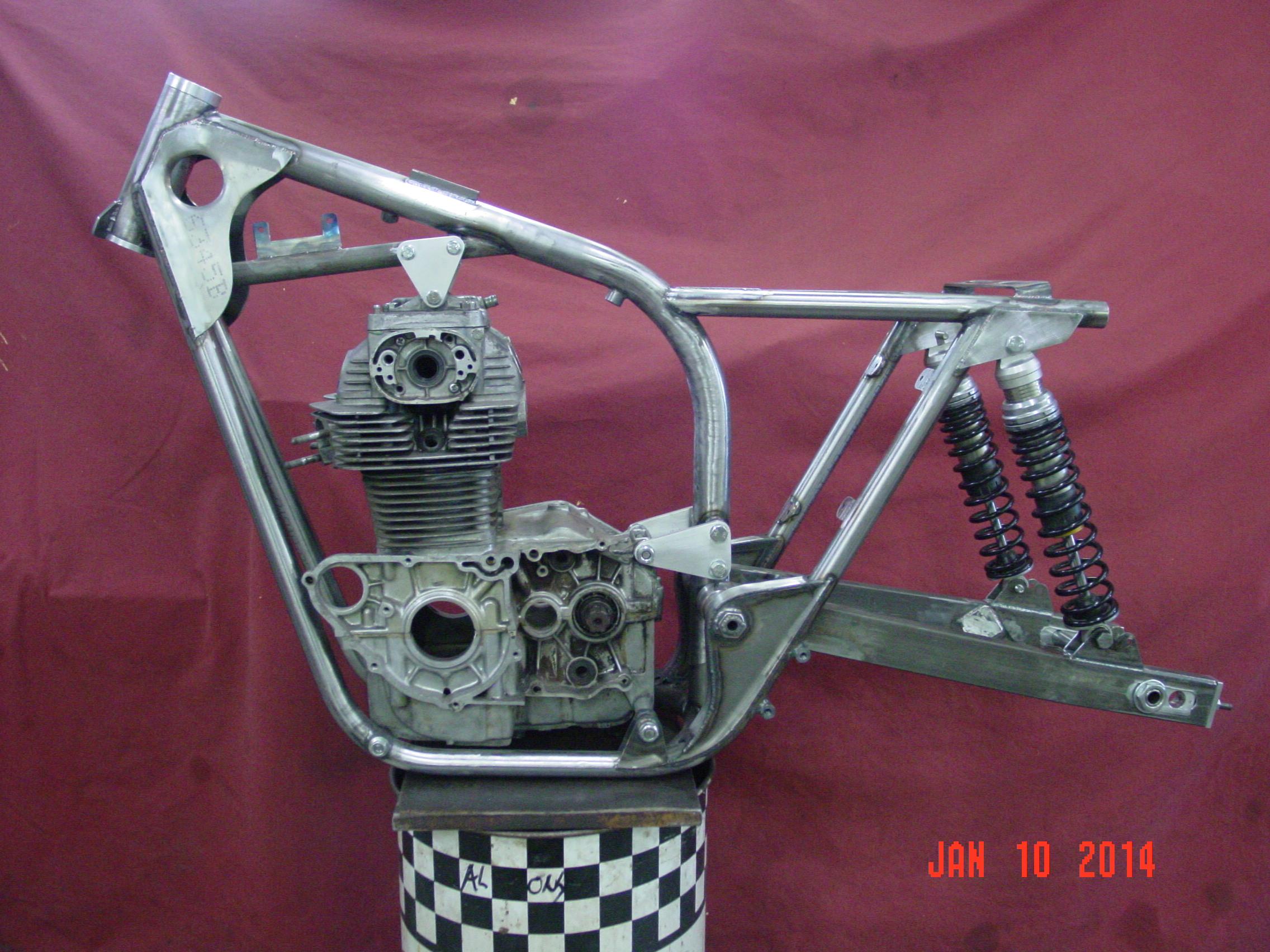 Honda Of Bellevue >> Framecrafters Trackmaster Style Frame for Honda CB/CL/SL Engine
