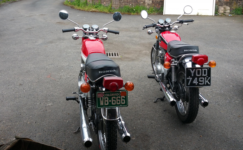 Honda CB175 K6 Handle bars-twin2.jpg