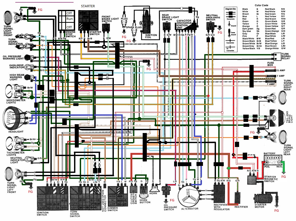 Wanted 82 Cm450c Color Wiring Diagram Honda Twins