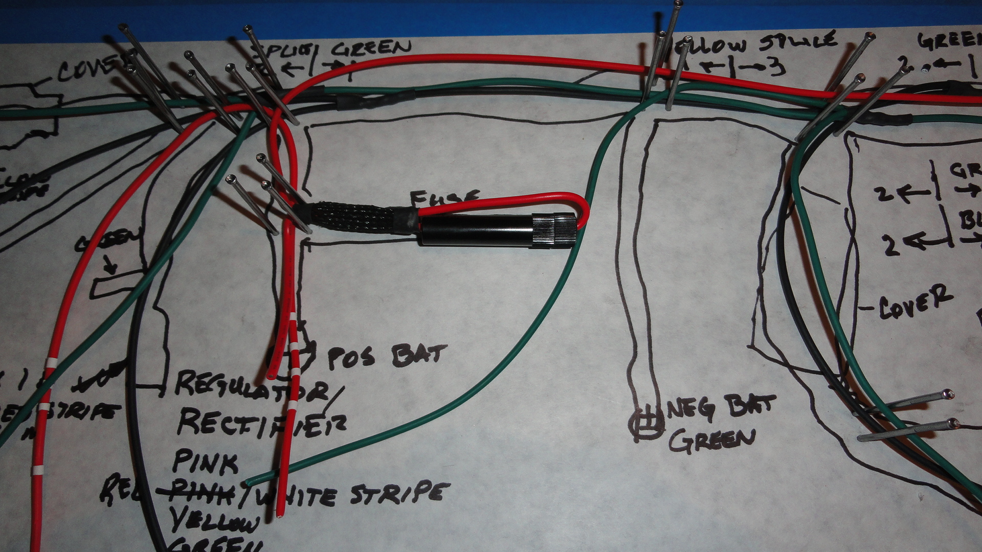 What did you do to your Twin this week?-wire-harness-1.jpg