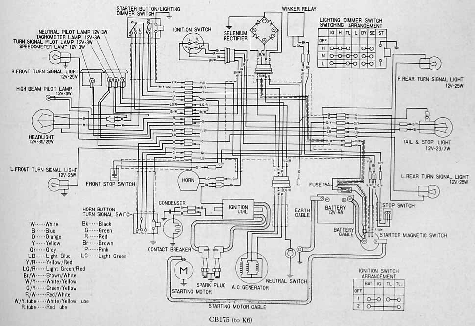 49422d1416452155 h4 headlamp wiring_175_cb175 to_k6 h4 headlamp page 5 1970 honda cl350 wiring diagram at crackthecode.co