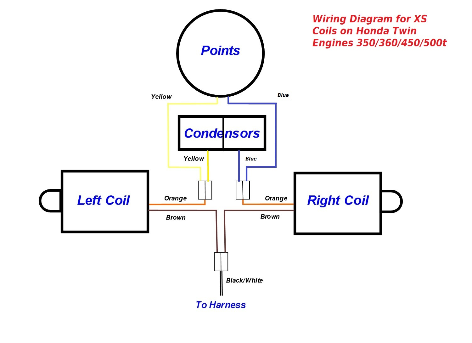 WRG-3497] Xs650 Simple Wiring Diagram Electronic Ignition on