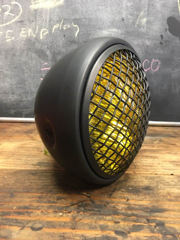 Custom CB350 parts. From stockers to  your build. SpeedMotoCo has what you need.-yellow-mesh-headlight-7.jpg