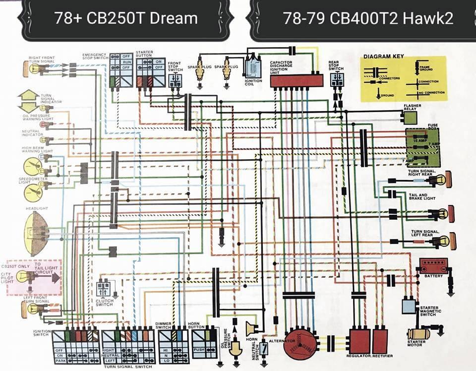 Cb400t Wiring Diagram 1970 Camaro