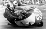 Libero Liberati and Geoff Duke - both Gilera 4 Cilinder 500, Monza..jpg